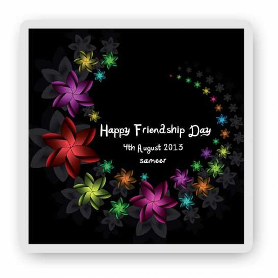 Happy friendship Day - Magnet