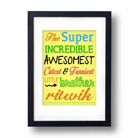 Awesomest Brother - Frame