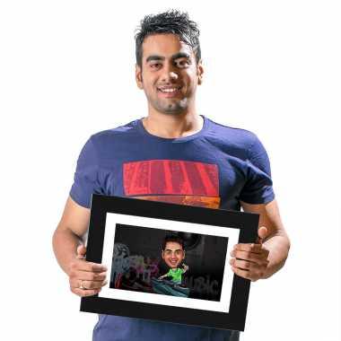 DJ - Caricature Photo Frame