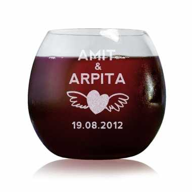 Love Wings - Stylish Wine Glasses