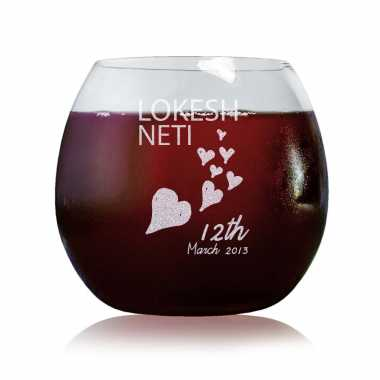Increasing Love For You - Stylish Wine Glasses