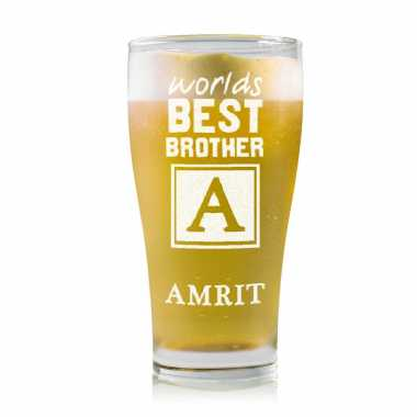 Best Bro - Monogram - Stylish Beer Mug