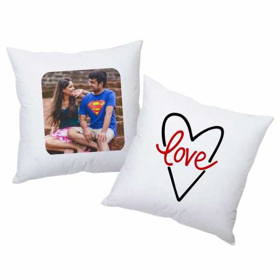 He's Hot - She's Cute - Personalized Cushions