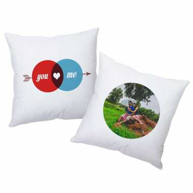 He's Hot - She's Cute - Personalized Cushions