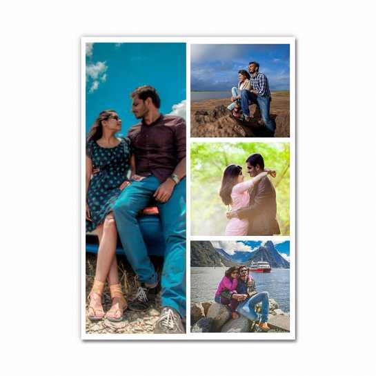 Photo Collage (4 Photos) - Layout 3