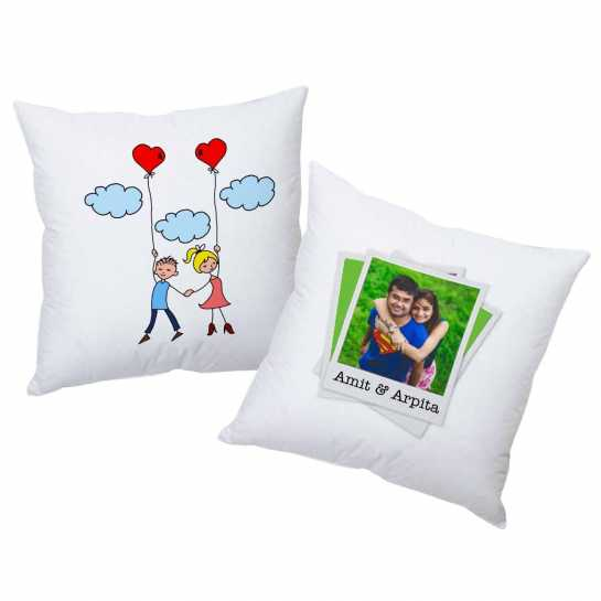 Personalized Cushions for Couple - 45