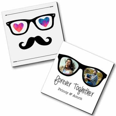 Personalized Magnet Couple - 7