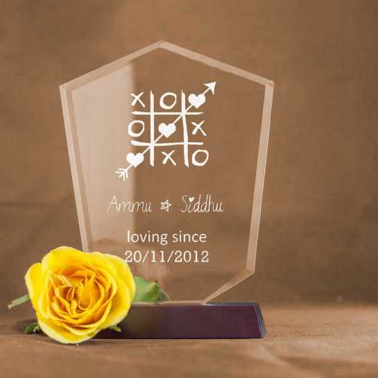 Game of Love - V Shaped Memento