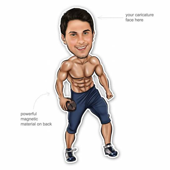 Caricature Gift Pack - Gym