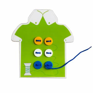 Shirt Button Sew Toy for Kids