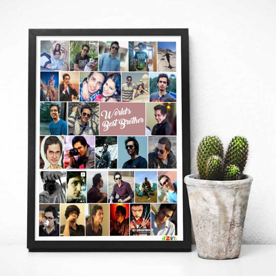 Facebook Profile Pics - Photo Collage Frame for Brother