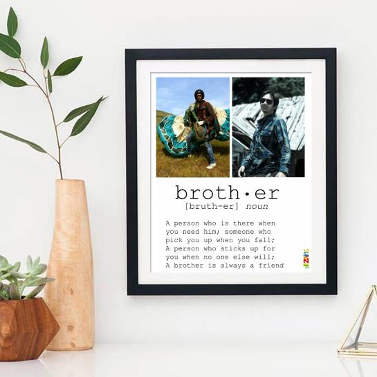 Brother Meaning - Photo Collage Frame for Brother