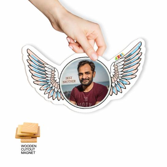 Spread your Wings - Custom Fridge Magnet for Brother