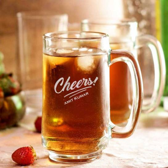 Beer Mug - Cheers with Name