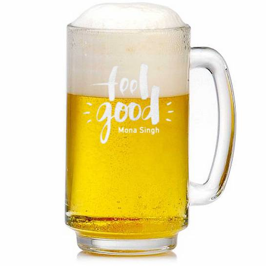 Beer Mug with Name - Feel Good