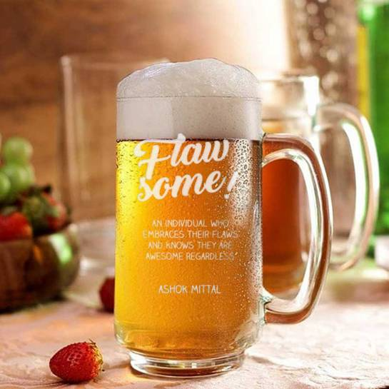 Beer Mug with Name - Flawsome