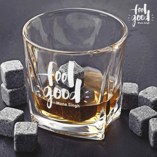 2 Whiskey Glasses - Feel Good