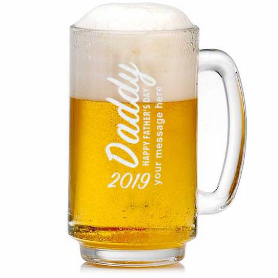 Father's Day 2019 Beer Mug Customised