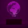 Globe 3D illusion night lamp