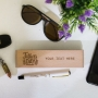 Father's Day Wooden Pen Box with Customised Pen