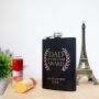 Hip Flask with Custom Text for Dad of the Year