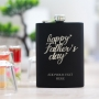 Customised hip flasks for fathers day