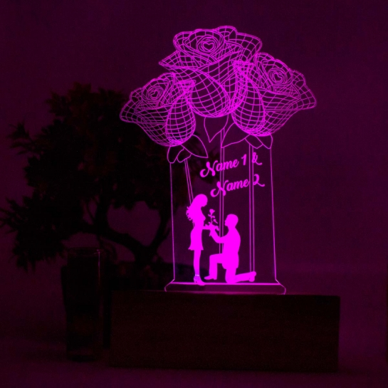 Balloon Style Night lamp by dezains