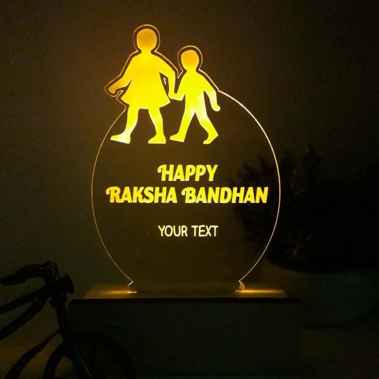Rakshabandhan Night Lamp