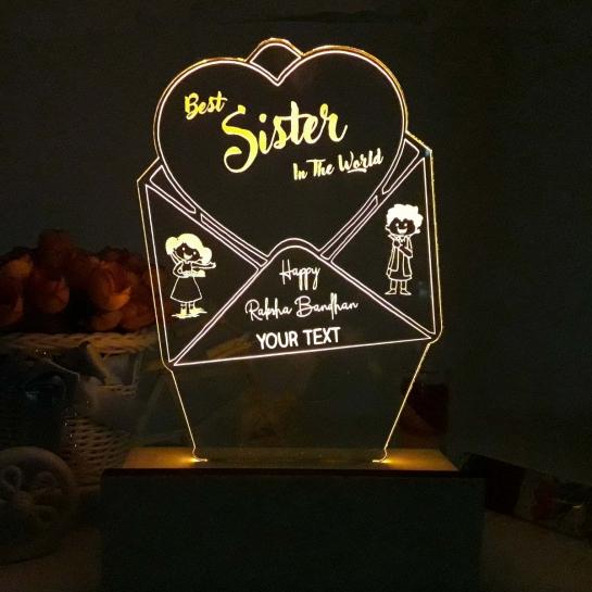Night Lamp forSister - Rakhi Gift