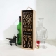 Best Bro Wooden Wine Box with Name