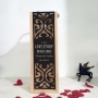 Love Story Woodeb Wine Box