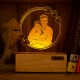 Personalized Couple Photo Engraved Night Lamp - Hearts