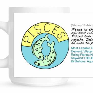Zodiac Sign Personalized Mug