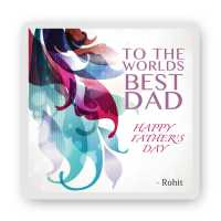 Personalized Magnet for World_s Best Dad