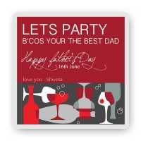 Lets Party-Magnet