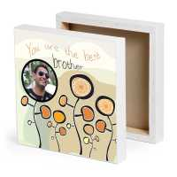 Best Brother Personalized Canvas