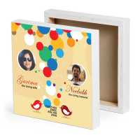 Married Couple Personalized Canvas