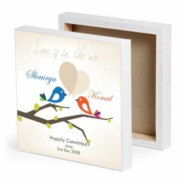 Happy Couple Personalized Photo Frame
