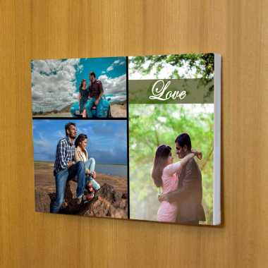 Personalized Photo Frame with Collage Pictures