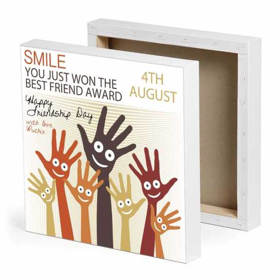 Smile - Friendship Day Canvas