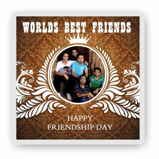 World's Best Friends - Friendship Day Magnet