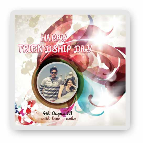 Happy Friendship Day Magnet