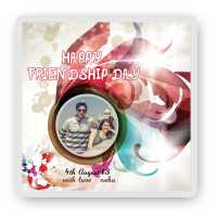 Friendship Day Photo Magnet