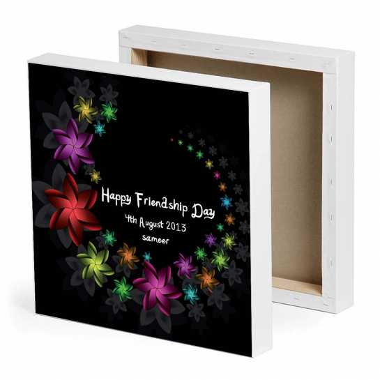 Happy Friendship Day Canvas