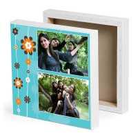Pretty Friends Photo Canvas
