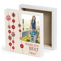 Special Bestie Photo Canvas