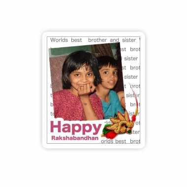Raksha Bandhan Personalized Magnet
