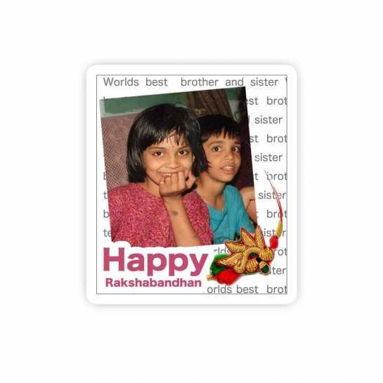 Happy Rakhi-Magnet
