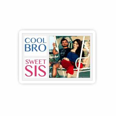 Cool Siblings Personalized Magnet