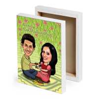 Caricature Canvas - Rakhi Special